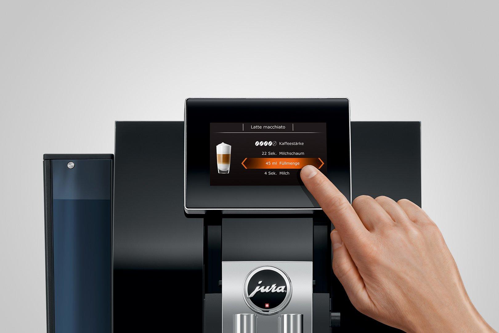 Приготовление кофе нажатием одной кнопки