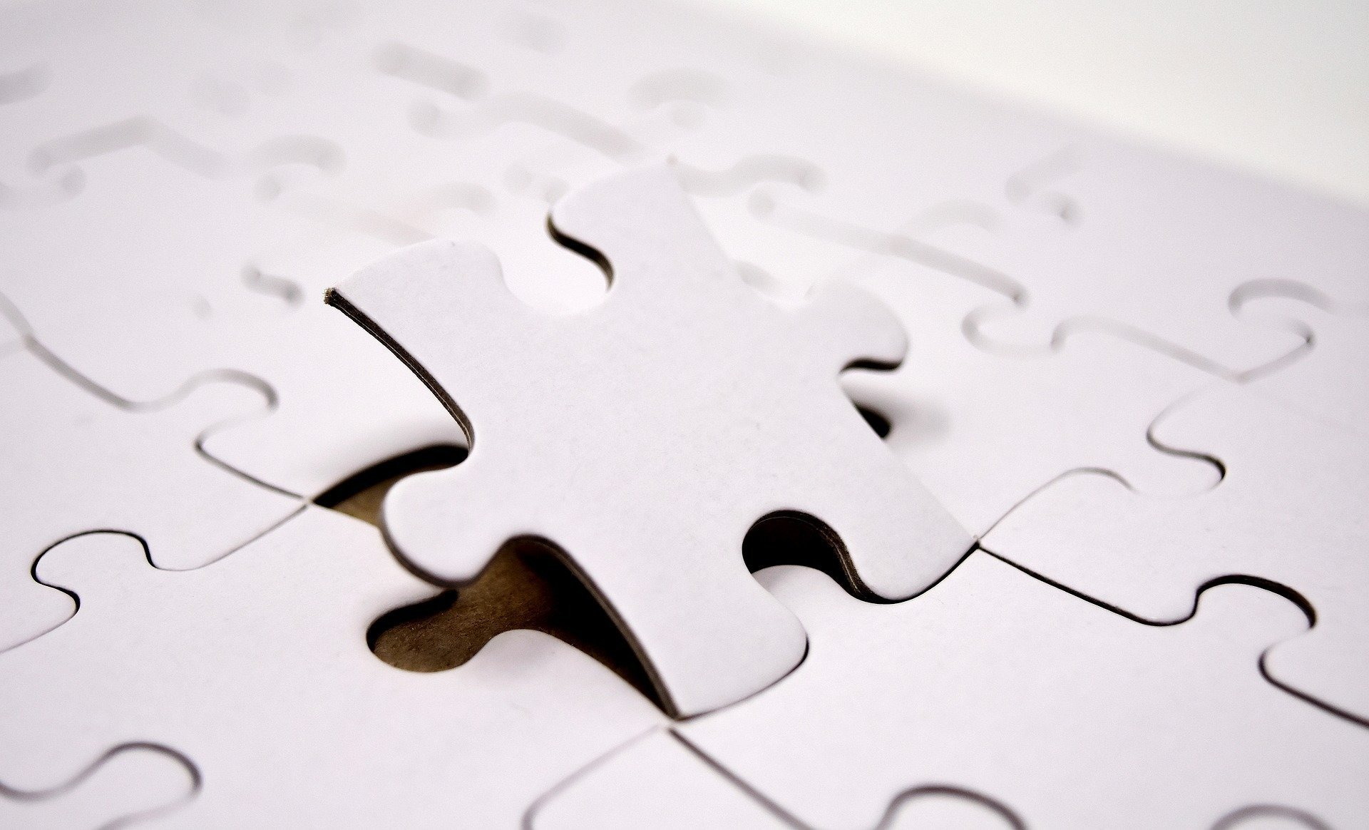 What's the missing piece of your jigsaw