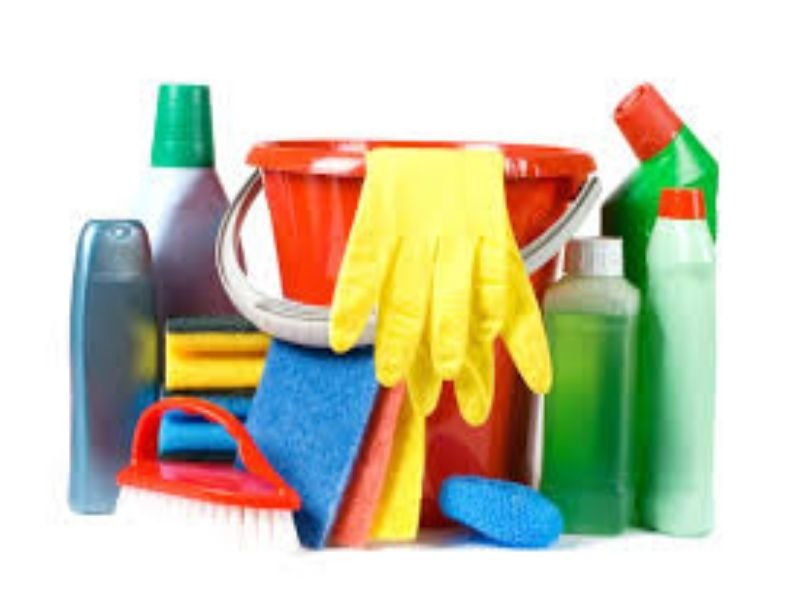 كيفية تنظيم لوازم التنظيف بالمنزل