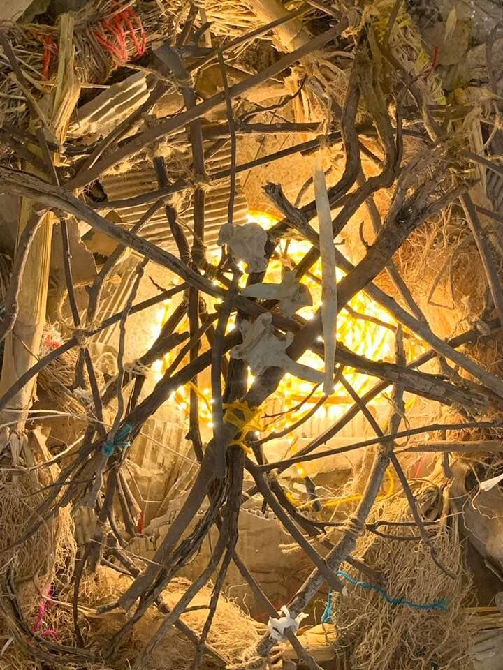 מתוך התערוכה חיית שטח יפעת טריינין ליסאי. צילום: ניבי אלרואי