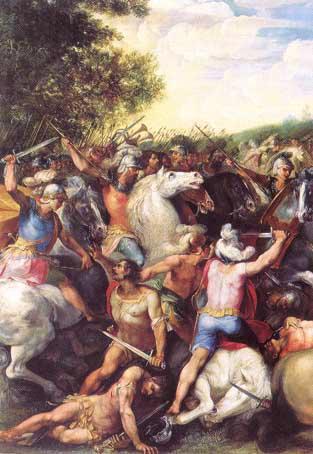 La Victoire de Tullus Hostilius sur les forces de Veies et de Fidena