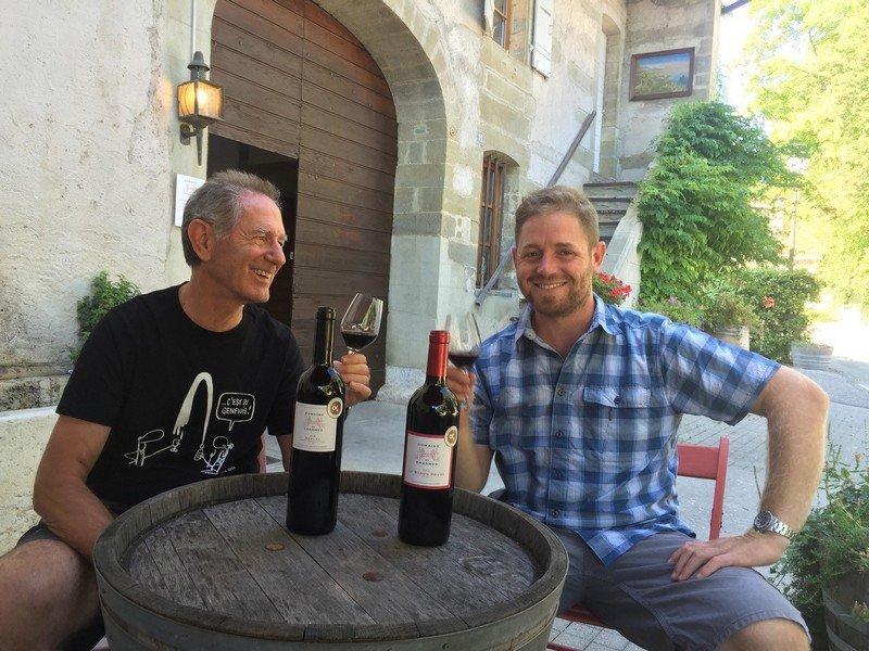Bernard et Olivier Conne