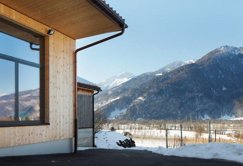 Le Domaine Weine Familien Liesch à Malans dans le vignoble des Grisons