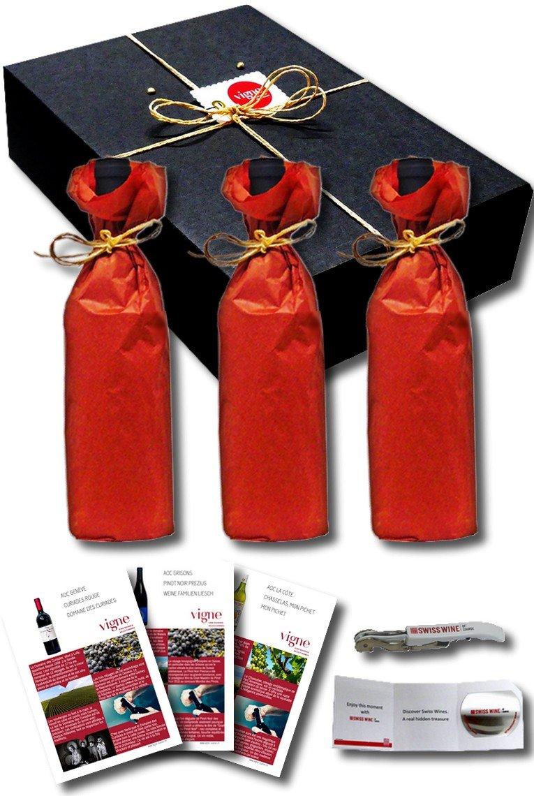 Ce que contiennent nos coffrets cadeau de vin