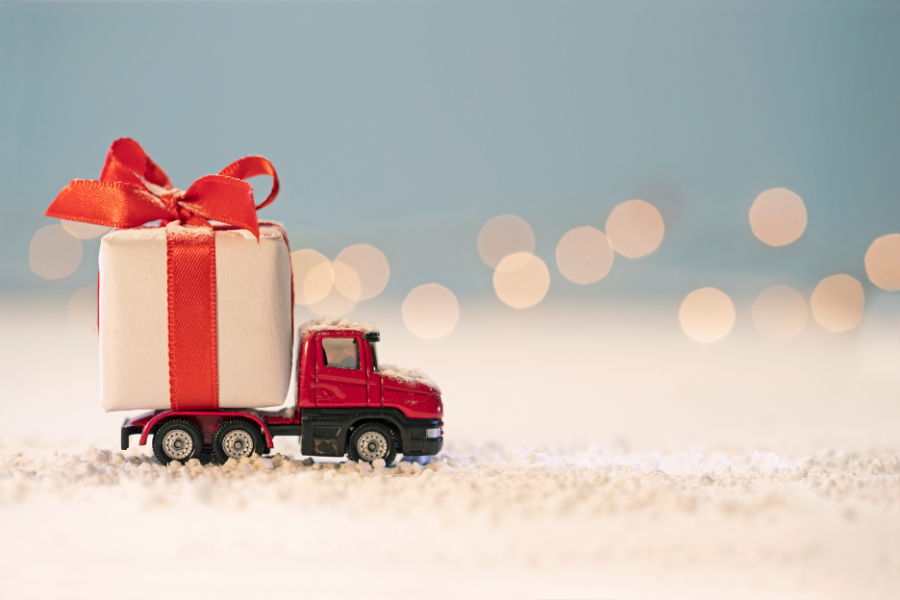 Livraison de cadeau commandé en ligne