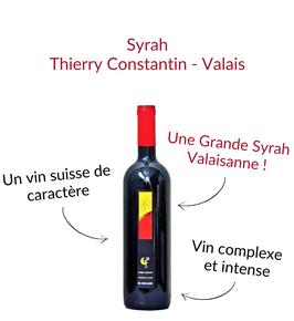 Syrah du Valais Thierry Constantin l'odalisque