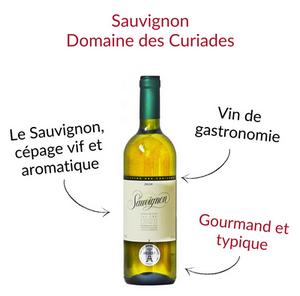 Sauvignon de genève Domaine des Curiades vin blanc