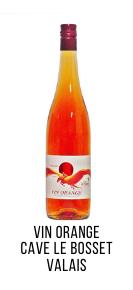vin orange pinot gris cave le bosset valais
