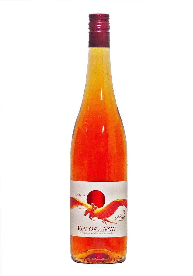 Bouteille de vin orange du valais cave le bosset