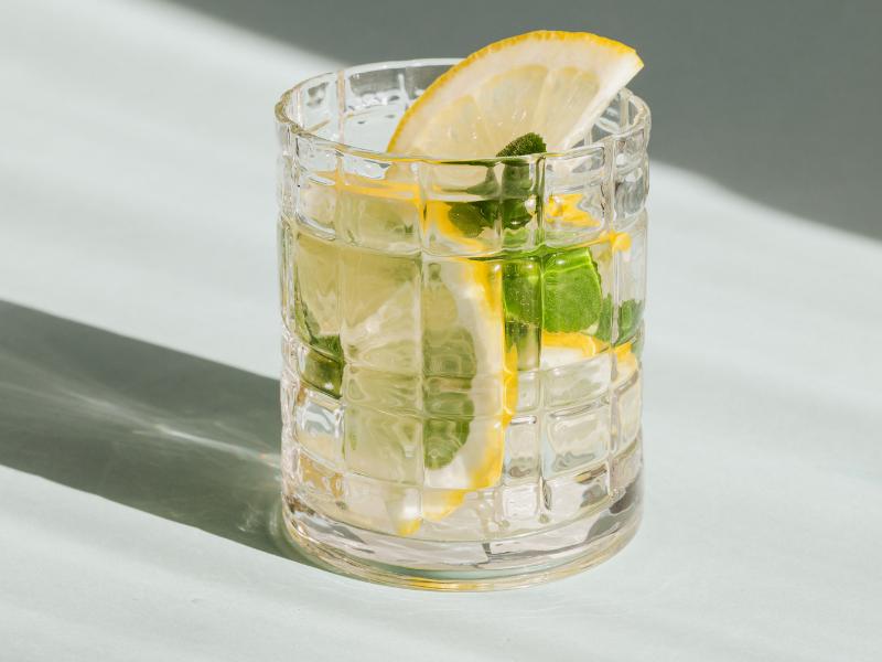 cocktail gin citron