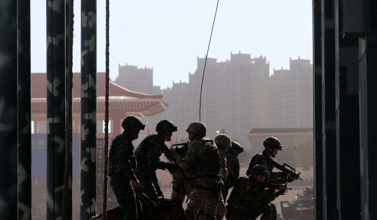 China has been increasing its security presence in the strategically sensitive region. Photo: Xinhua