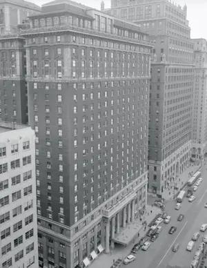The Statler Hotel in Manhattan