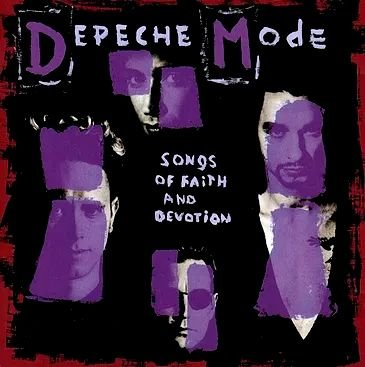Depeche Mode - Songs of faith and devotion - CD + DVD
