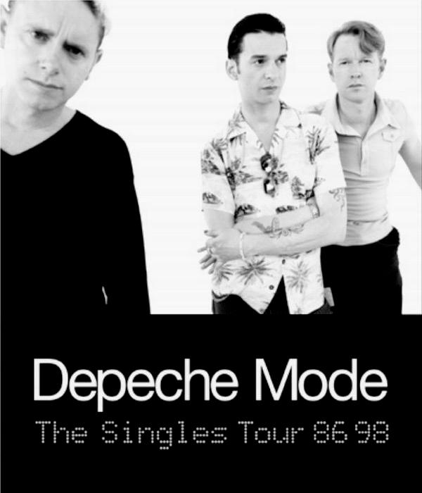 Depeche Mode - The Singles Tour  86>98 -