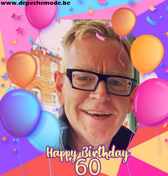 Happy birthday Andy !