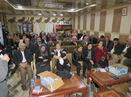 ربما تحتوي الصورة على: ١٧ شخصًا، وبما في ذلك Kawa Aliraqi، وأشخاص يجلسون ومنظر داخلي