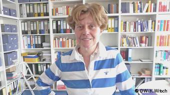 Britta Bannenberg, Krimonologin an der Universität Gießen (DW/K.Witsch)