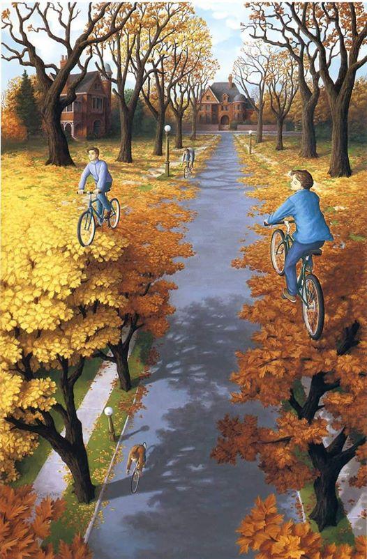 ربما تحتوي الصورة على: دراجة، وشجرة، ونشاطات في أماكن مفتوحة وطبيعة