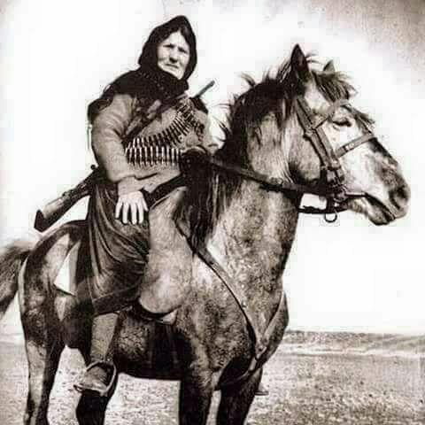 ربما تحتوي الصورة على: شخص واحد، وحصان