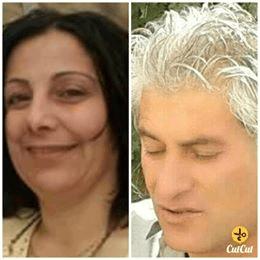 ربما تحتوي الصورة على: ٢ شخصان، بما في ذلك عبدالوهاب بيراني، أشخاص يبتسمون، لقطة قريبة، نص مفاده 'CutCut'