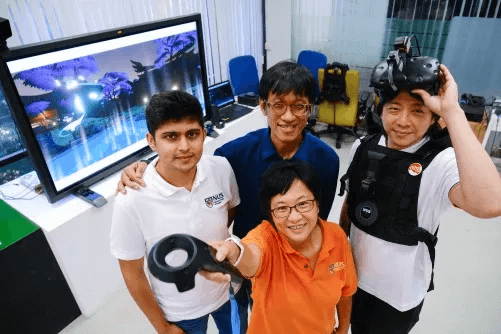 Newswise: NUS team creates 'The Lost Foxfire' - an interactive, multisensory VR game that achieves remarkable realism