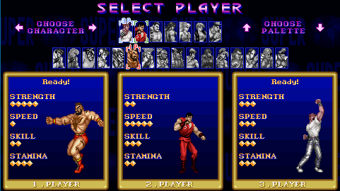 select player game start