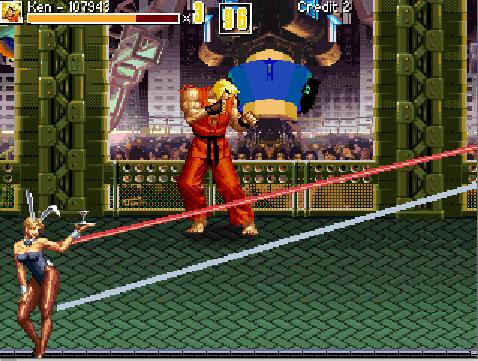 Ken smashes the disco