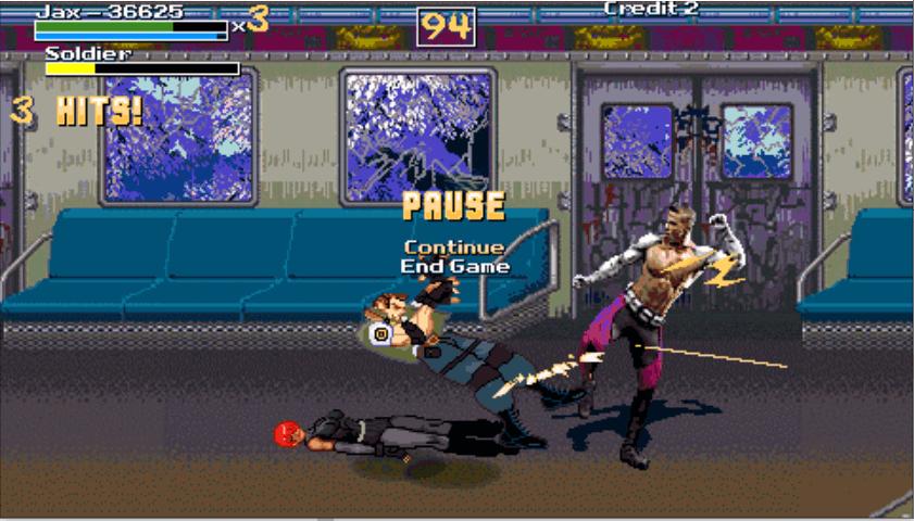 MK Jax  fight