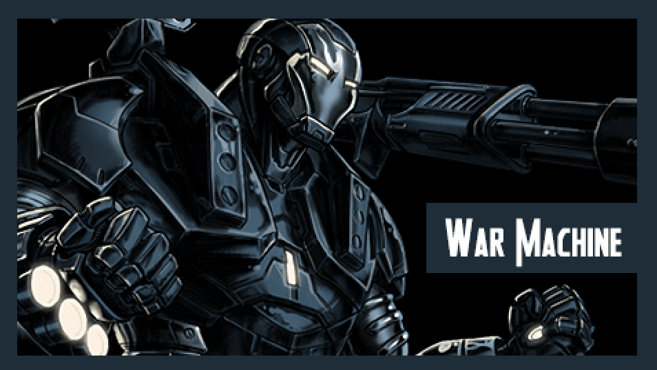 war machine's bio