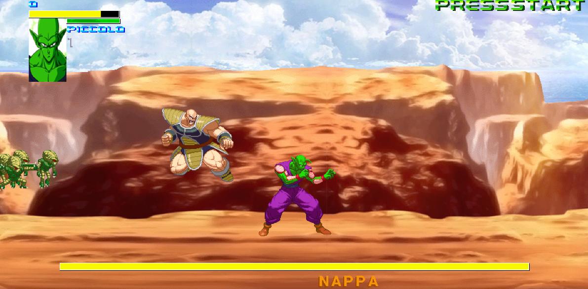 piccolo battle in the desert