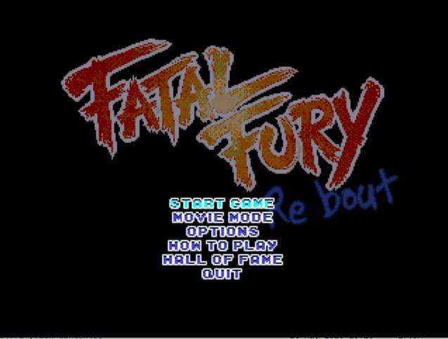 Fatal Fury Re-Bout ENTER LINK