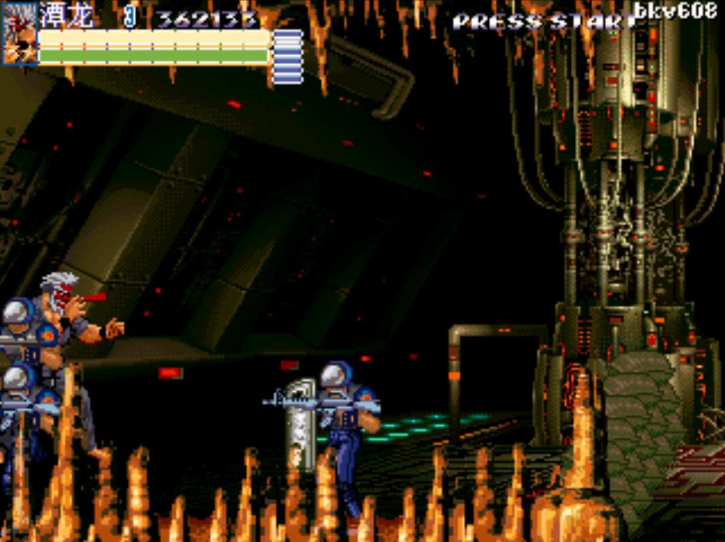 Takuma in the cave of Mr.X