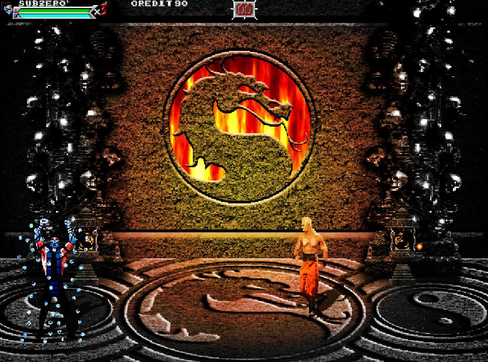 Mortal Kombat Outworld Assassins XL sub-sero vs monk