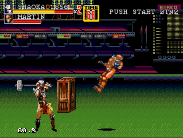 shao kahn smashes with his hammer