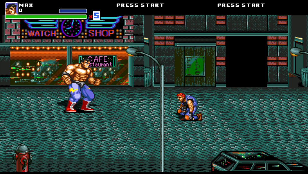 Streets of Rage Legacy the great max