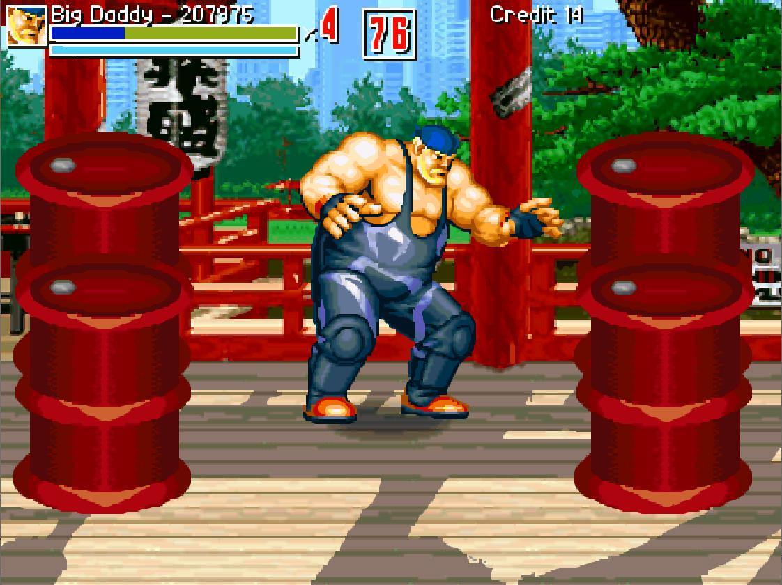 Big Daddy in fight