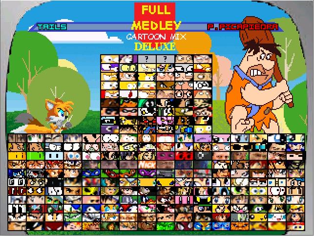 Full Medley Cartoon mix deluxe