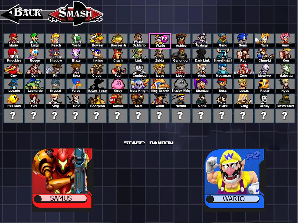 Smash Bros Clash 2.0 BY MERK