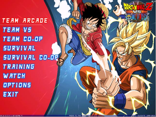 Dragon Ball Z vs. One Piece