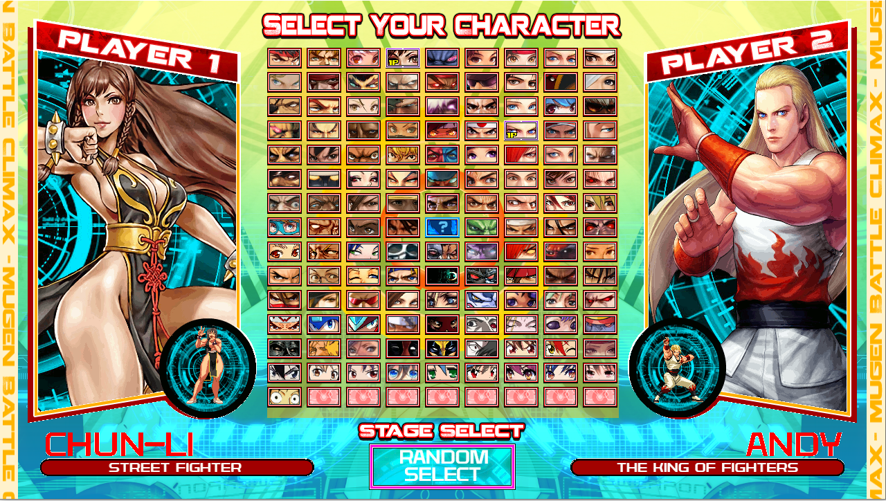 MUGEN BATTLE CLIMAX HD-by IgnizYT-2019 VER 4.0