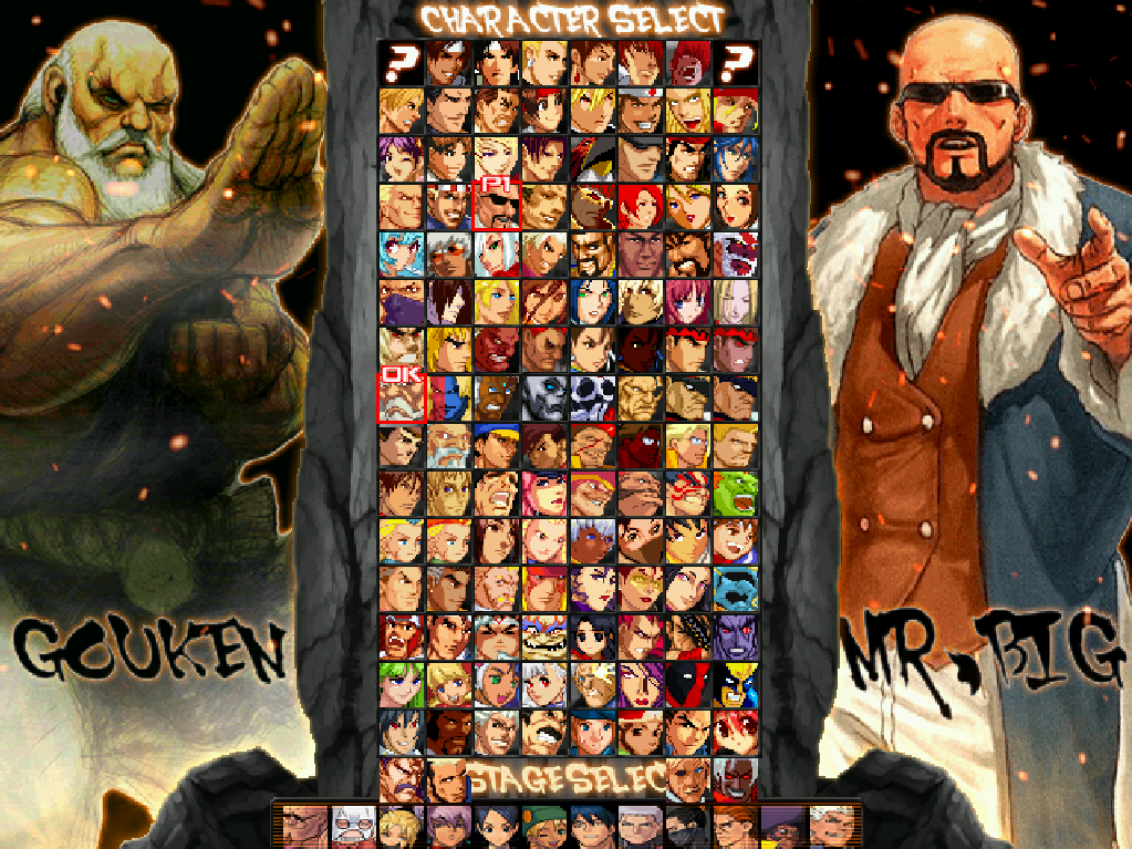 The King of Fighters Forever-download-gouken-vs-mr.big