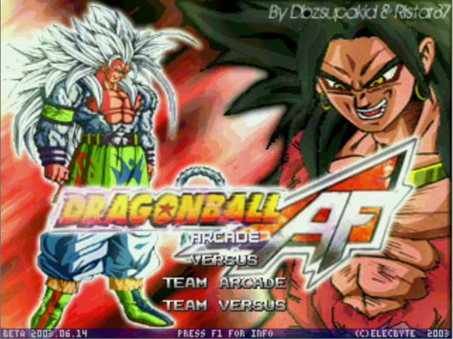 Dragon Ball AF M.U.G.E.N-download