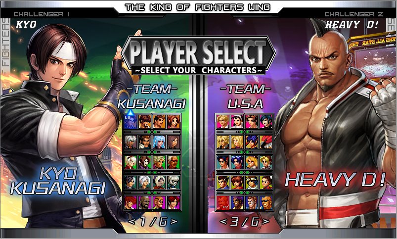 THE KING OF FIGHTERS WING MUGEN 2020-download