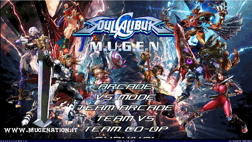 Soul Calibur Mugenation Edition-download