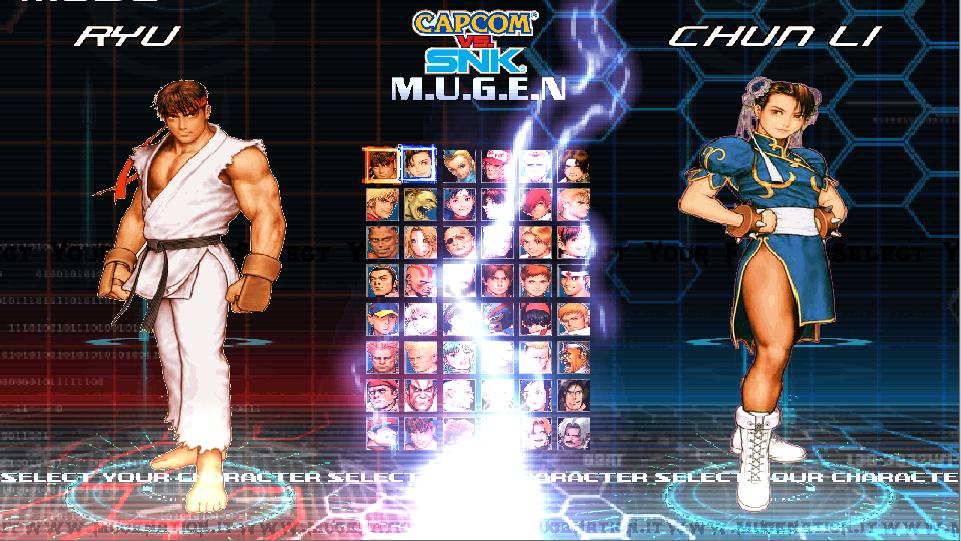Capcom VS SNK Mugenation Edition-download