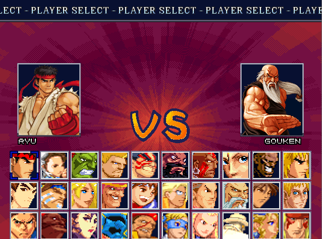 Street Fighter Extreme-download