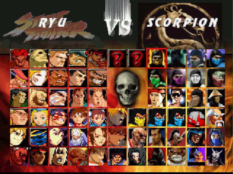Mortal Kombat vs Street Fighter-download