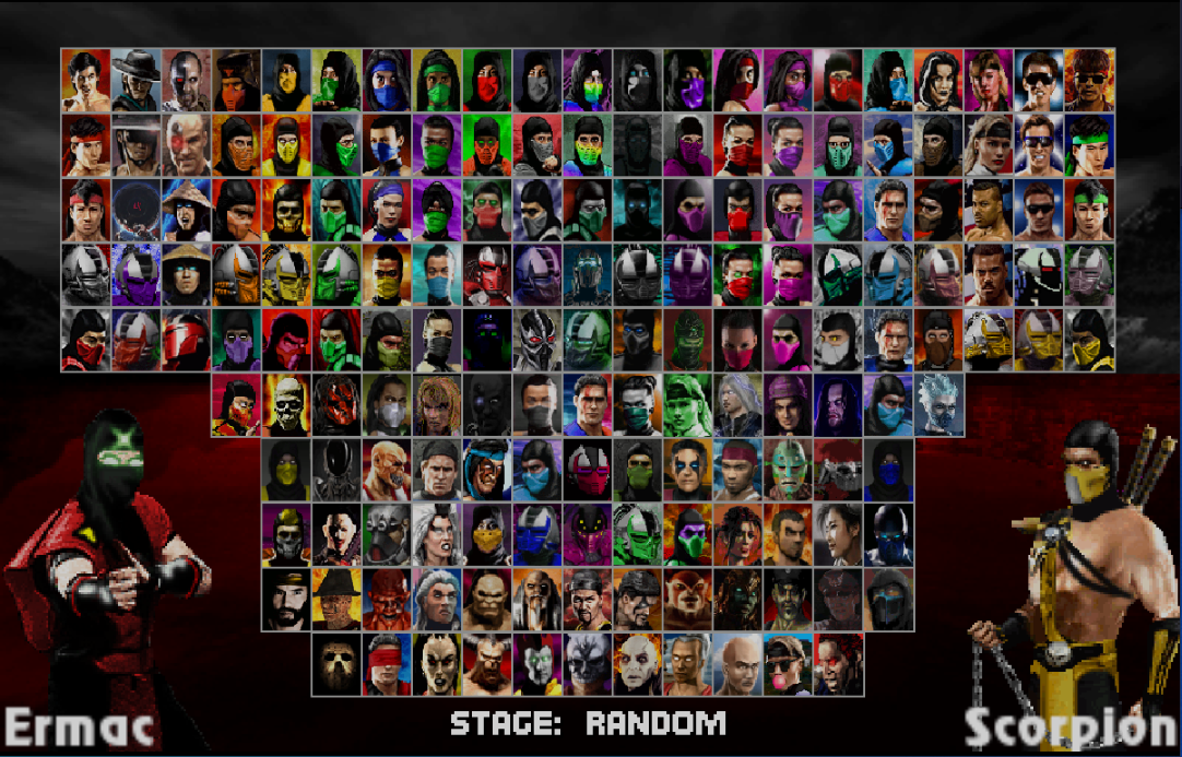 Mortal Kombat Project V2-download