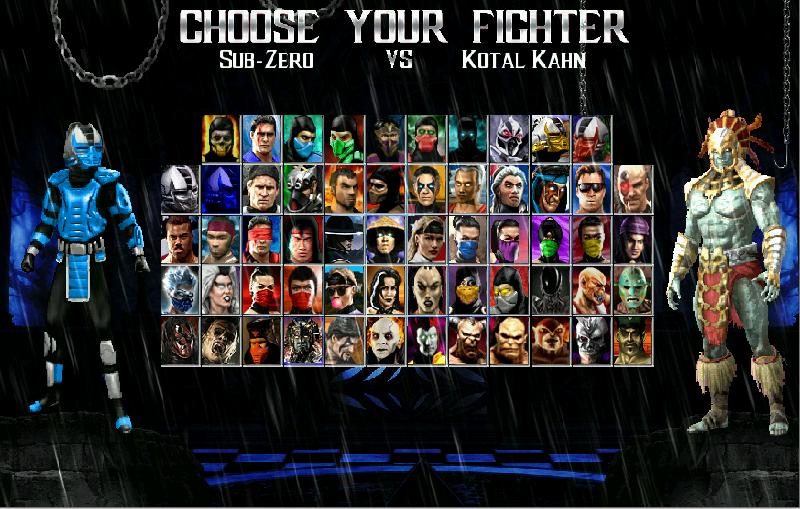 Mortal Kombat Introspection Beta 1.0-download