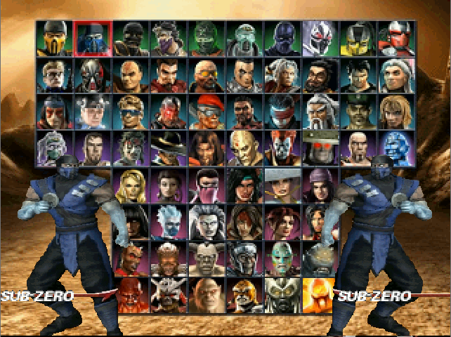 Mortal Kombat Armageddon MUGEN-download